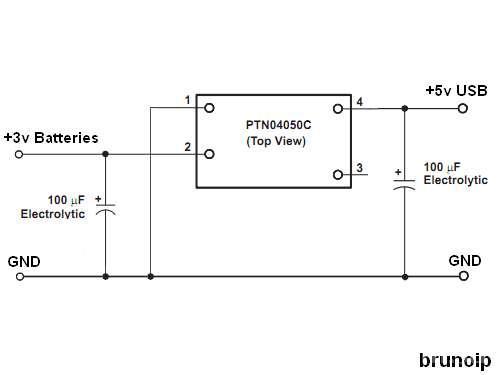 Портативное зарядное устройство для телефона своими руками схема