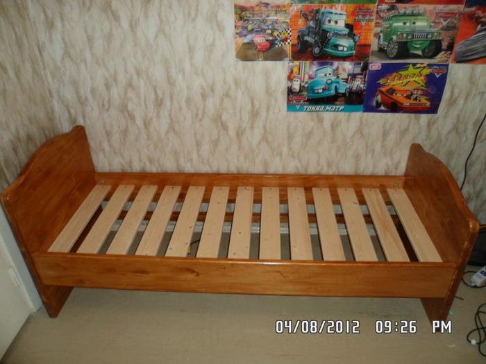 Кровать подростковая Klups Lew Материал: ДСПРазмер: 203,5x96x75 см. Ящик для белья