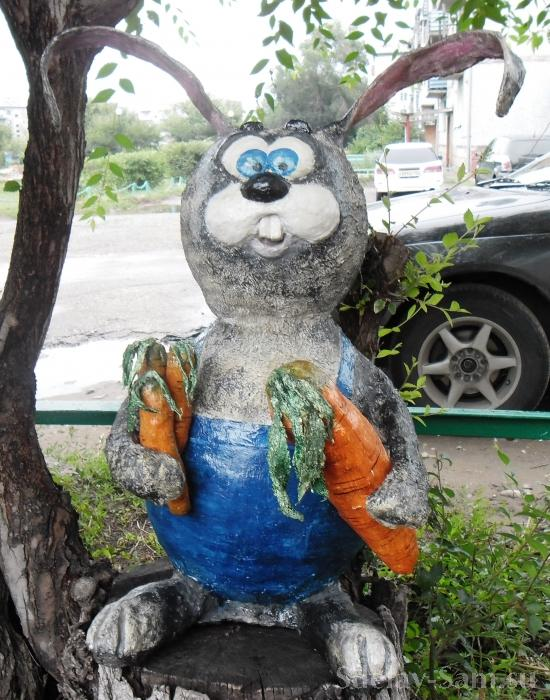 Заяц своими руками с сад 959
