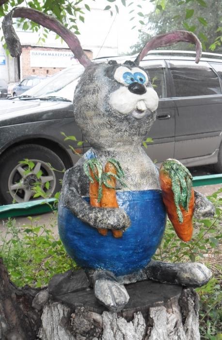 Заяц своими руками с сад 900