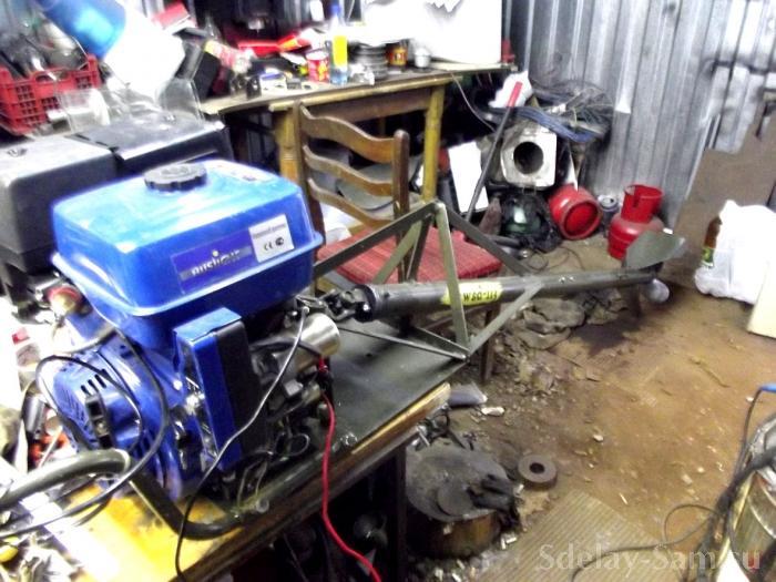 Лодочный мотор своими силами