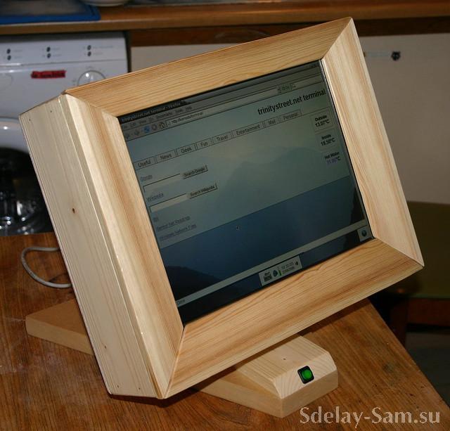 Как сделать монитор компьютера своими руками