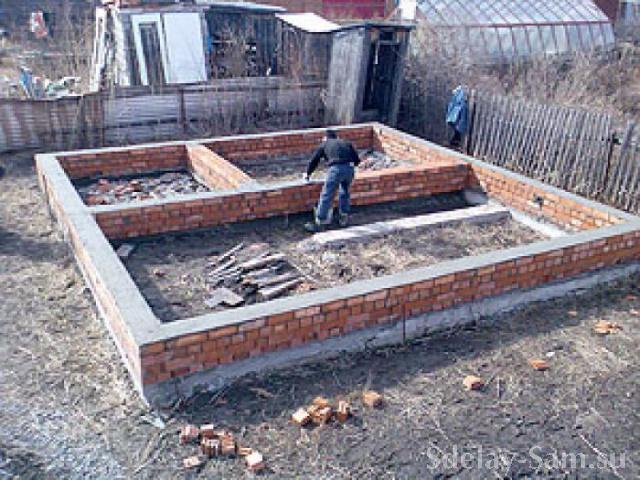 Построить дом от фундамента до крыши своими