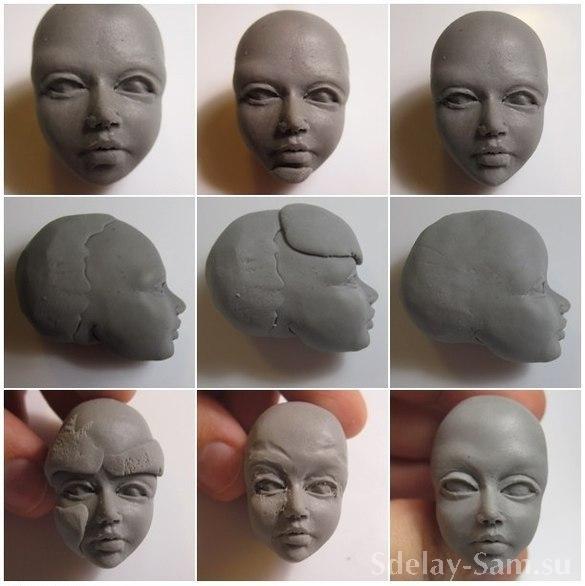 Как сделать куклу из полимерной глины своими руками фото