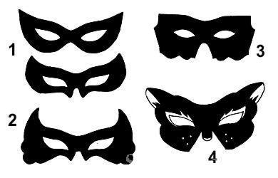 Маскарадный маска своими руками