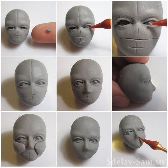 Как сделать куклу своими руками из полимерной глины