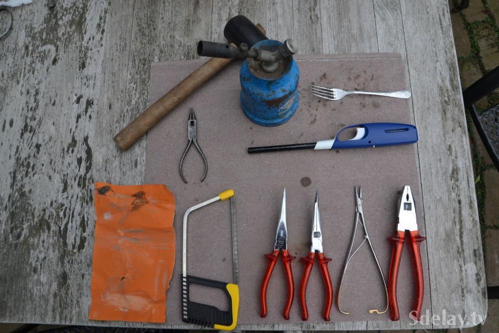 Материалы необходимые для самоделки