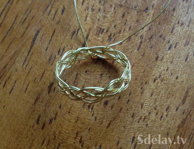 Как в домашних условиях сделать кольцо из проволоки