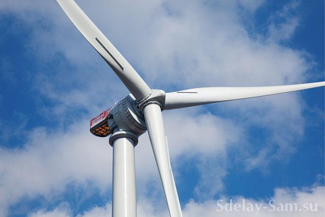 Схема лопасти ветряка