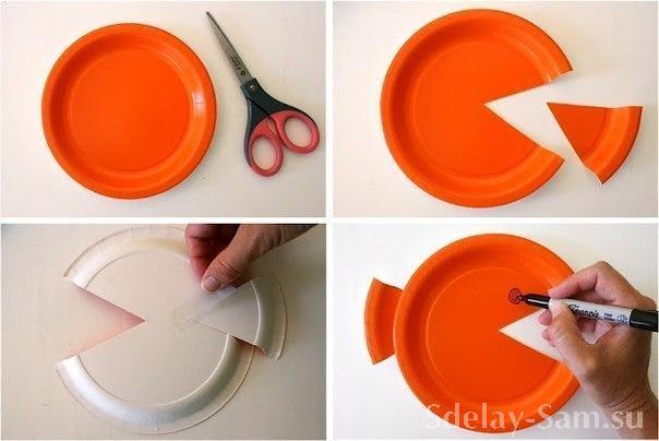 Что можно сделать из пластиковых тарелок