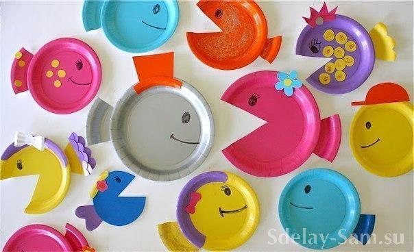 Поделки из пластиковых стаканчиков тарелок