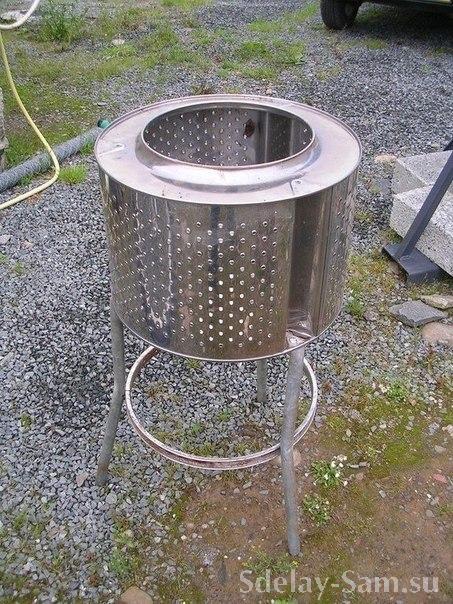 Поделки из барабана стиральной машины