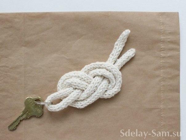 Как сделать брелок для ключей своими руками Сделай Сам www.sdelay.tv