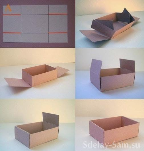 Как сложить подарок в коробку
