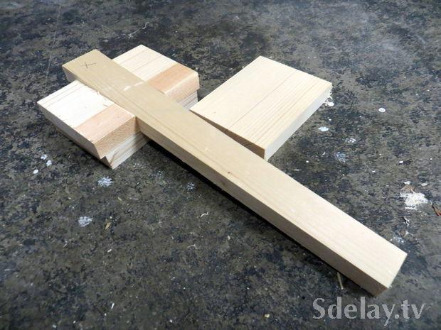 Молоток деревянный своими руками