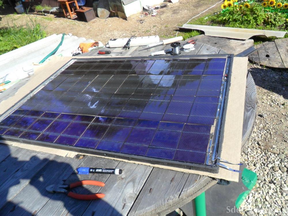 Кто собрал солнечные батареи своими руками