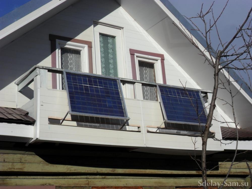Солнечная батарея.